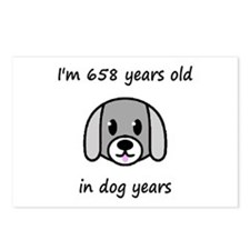 94 dog years 2 - 2 Postcards (Package of 8)