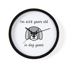 94 dog years 2 - 2 Wall Clock