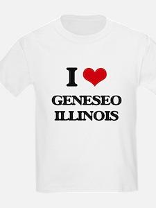 I love Geneseo Illinois T-Shirt
