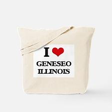 I love Geneseo Illinois Tote Bag