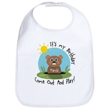 Harold birthday (groundhog) Bib