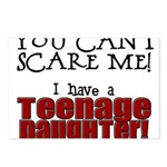 You Can't Scare Me - Teenage Daughter Postcards (P