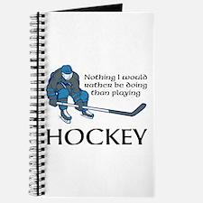 Playing Hockey Journal