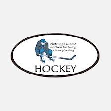 Playing Hockey Patch