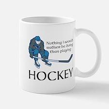 Playing Hockey Mugs