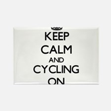 Keep Calm and Cycling ON Magnets
