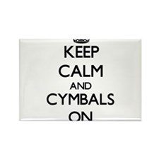Keep Calm and Cymbals ON Magnets