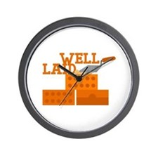 Well laid Wall Clock