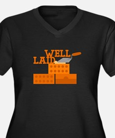 Well laid Plus Size T-Shirt