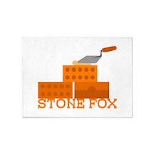 Stone Fox 5'x7'Area Rug