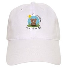 Keegan birthday (groundhog) Baseball Cap