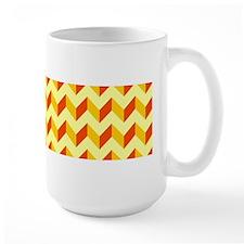 Chevron Patchwork Pattern Mug