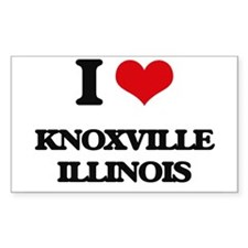 I love Knoxville Illinois Decal