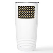 Chevron Patchwork Patte Travel Mug