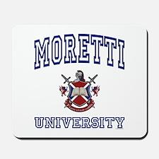 MORETTI University Mousepad