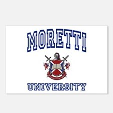 MORETTI University Postcards (Package of 8)