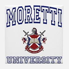 MORETTI University Tile Coaster