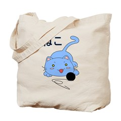 Anime Cat Tote Bag