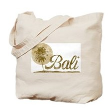 Palm Tree Bali Tote Bag