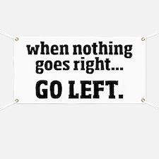 Go Left Banner