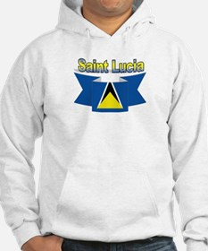 St Lucia Ribbon Hoodie
