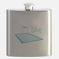 Varsity Dive Flask
