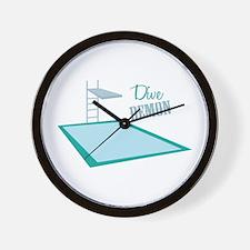 Dive Demon Wall Clock