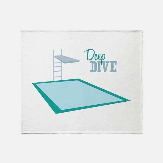 Swimming Pool Throw Blanket
