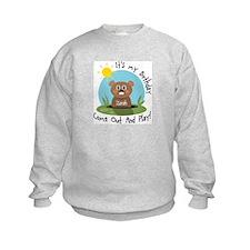 Isaiah birthday (groundhog) Sweatshirt