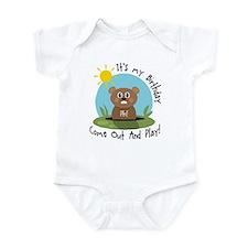 Phil birthday (groundhog) Infant Bodysuit