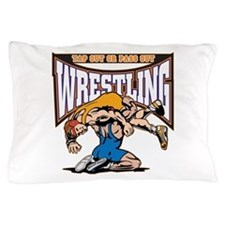 Tap Out or Pass Out Wrestling Pillow Case