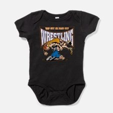 Tap Out or Pass Out Wrestling Baby Bodysuit