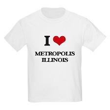 I love Metropolis Illinois T-Shirt