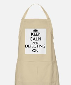 Keep Calm and Defecting ON Apron