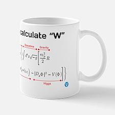 "Equation for ""W"" Mug"