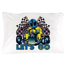 Let's Go Kart! Pillow Case