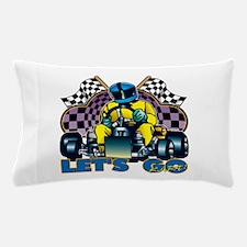 Let's Go Kart! Pillow Case