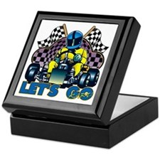 Let's Go Kart! Keepsake Box