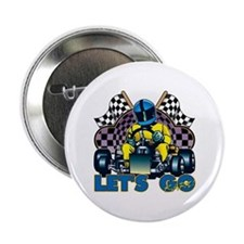 "Let's Go Kart! 2.25"" Button"