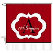 TilePattern1 Shower Curtain