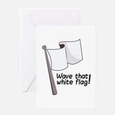 Wave That Flag Greeting Cards