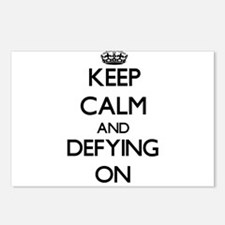 Keep Calm and Defying ON Postcards (Package of 8)