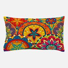 Funky Retro Pattern Pillow Case