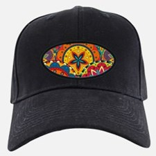 Funky Retro Pattern Baseball Hat