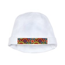 Funky Retro Pattern baby hat