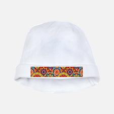 Funky Retro Pattern baby hat