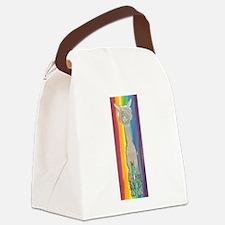 Alpaca Luv full Canvas Lunch Bag
