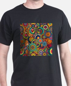 Funky Retro Pattern T-Shirt