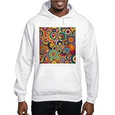 Funky Retro Pattern Hoodie