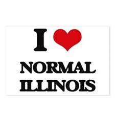 I love Normal Illinois Postcards (Package of 8)